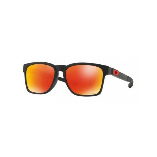 72113faf0 Óculos Oakley Catalyst PRIZM Ruby - Preto   Netshoes