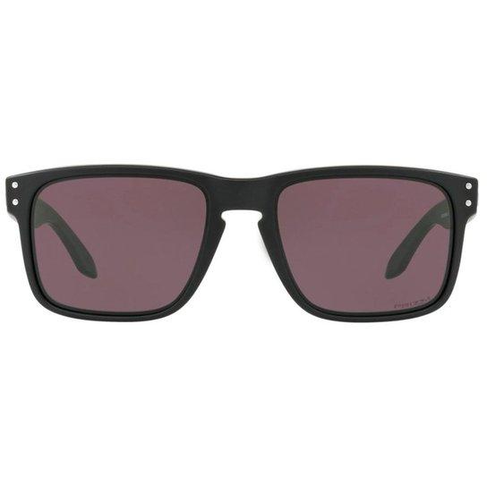1534e5213b Óculos de Sol Oakley Holbrook 0OO9102 E8 55 - Preto - Compre Agora ...