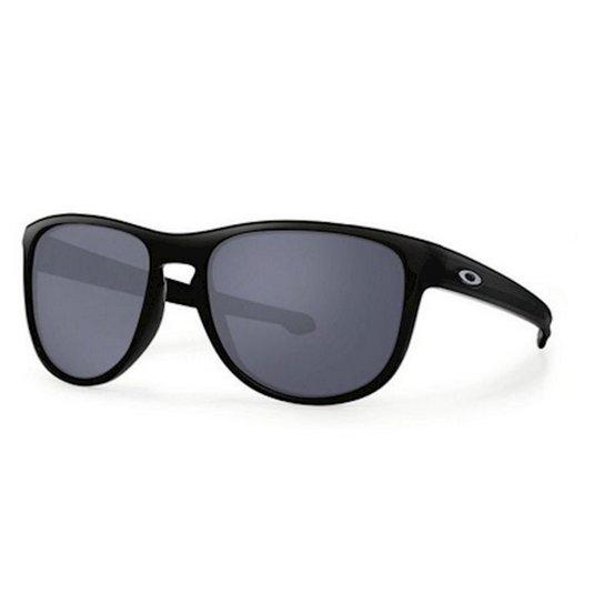 53227782b435d Óculos de Sol Sliver Matte Black Grey Oakley - Preto - Compre Agora ...