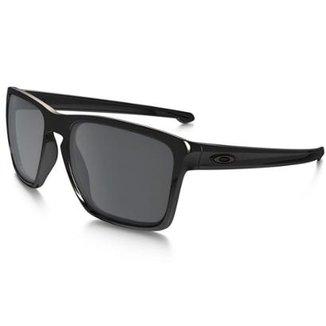 Óculos de Sol Oakley Sliver XL OO9341 - Matte Grey Ink - Prizm Sapphire  Polarized - 6f48a636fa