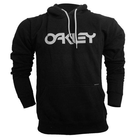 b79e47523cc5 Moletom Oakley Mark Pullover - Preto   Netshoes