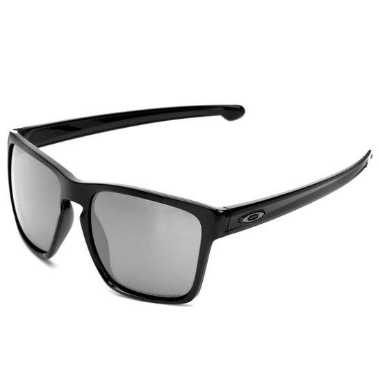 3c1756d33 Óculos Oakley Sliver XL Polished Black/Lente Prizm Black Iridium - Preto