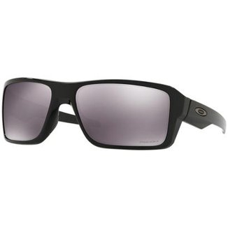 abef75a61fb75 Óculos Oakley Double Edge Polished Black   Lente Prizm Black Iridium