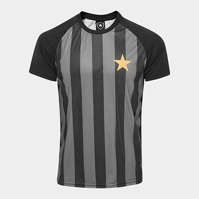 Camisa Botafogo Estrela Gold nº 7 - Edição Limitada Masculina ... e56698bdc886d