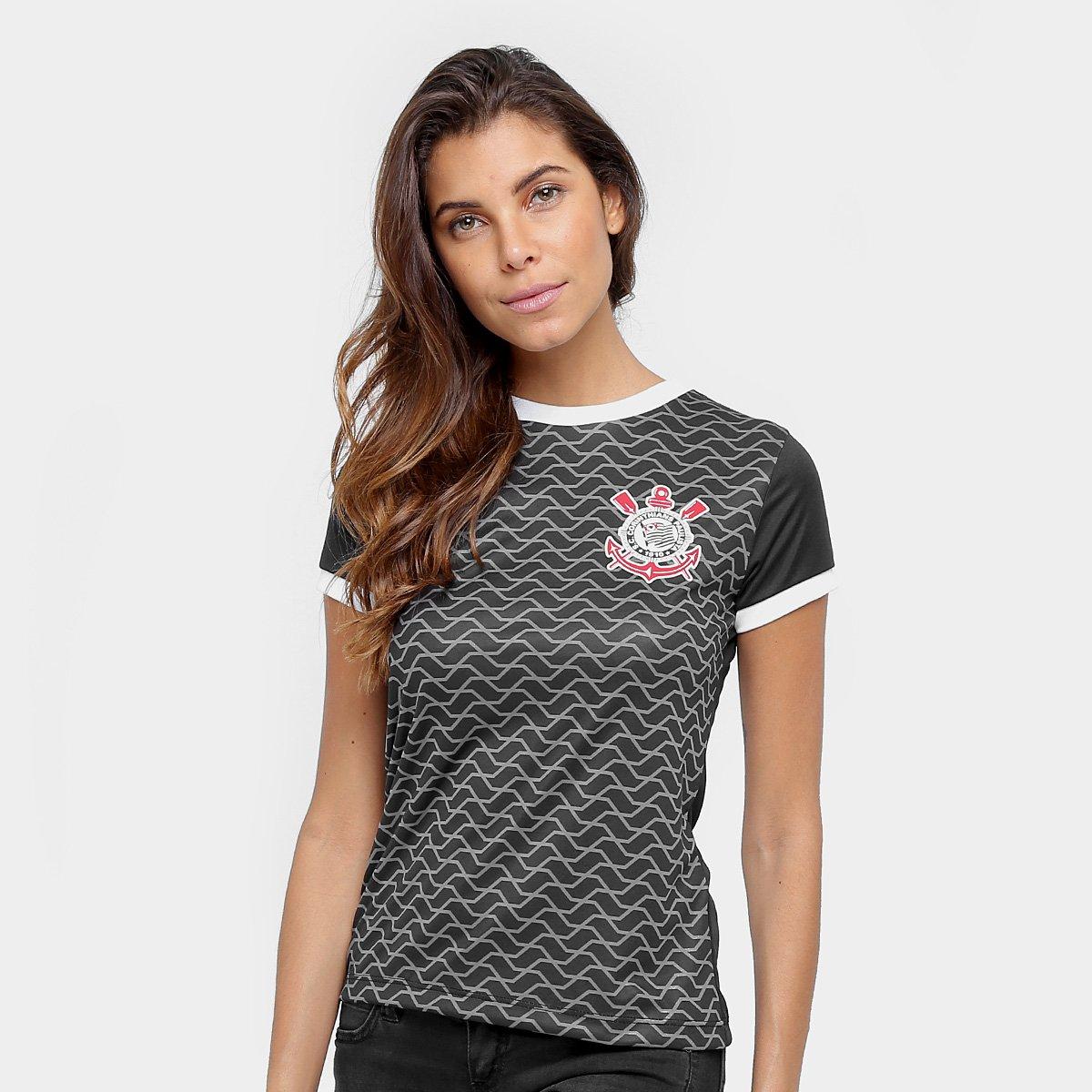 Camisa Corinthians Libertados Feminina