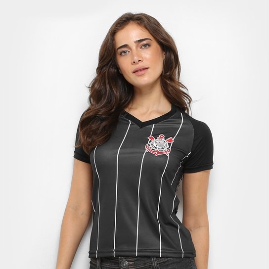 Camisa Corinthians Fenomenal Edição Especial Feminina - Preto ... d54aab00f1f8e