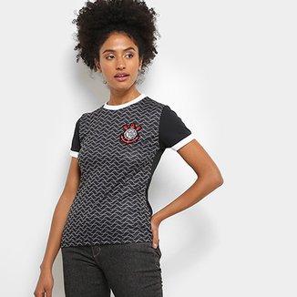 1915444018 Camisa Corinthians Libertados C  Patch Feminina