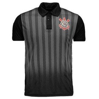 dc38f759e8 Camisa Polo do Corinthians Dark Side Masculina