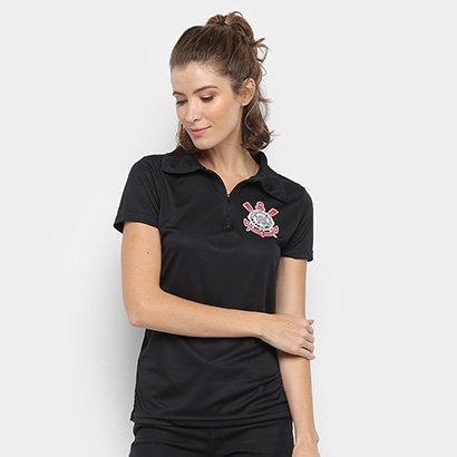 Camisa Polo Corinthians Eterna Paixão Feminina