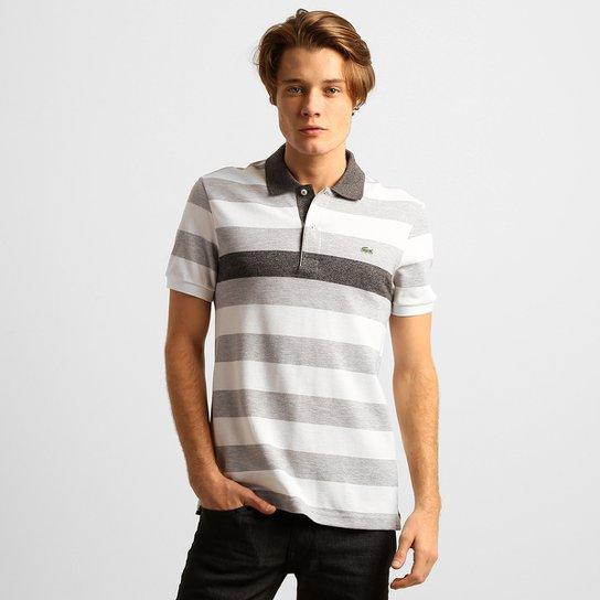 25b7380e6 Camisa Polo Lacoste Listrada Regular Fit - Compre Agora