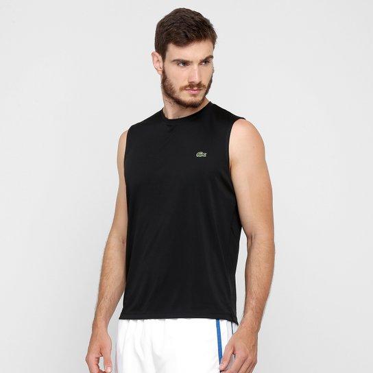 Camiseta Regata Lacoste - Compre Agora   Netshoes 2171a870bd
