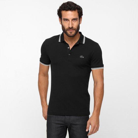 09aca948d4560 Camisa Polo Lacoste Piquet Pima Slim Fit - Compre Agora   Netshoes