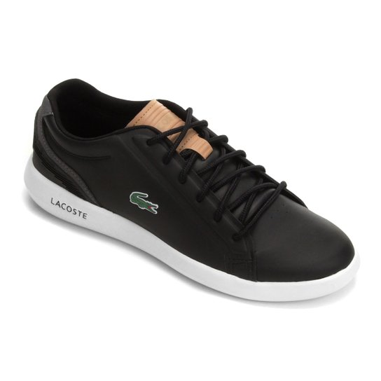 720a21a5096a1 Tênis Lacoste Avantor 118 Masculino - Preto - Compre Agora   Netshoes