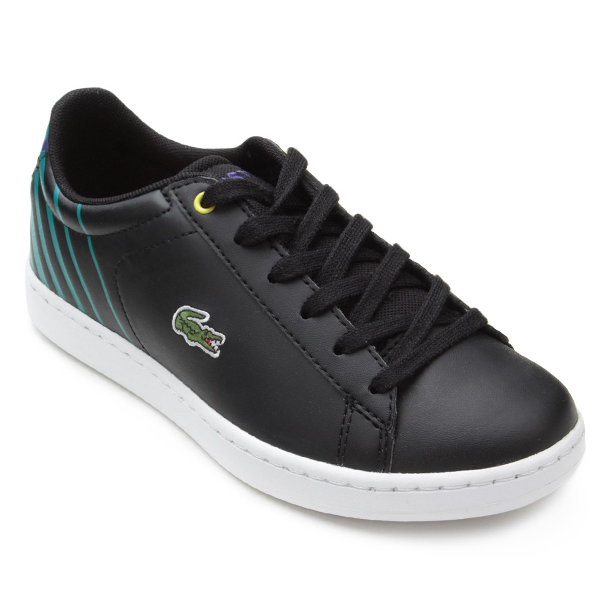 f1ab93a2ef3 Tênis Infantil Lacoste Carnaby Evo Masculino. undefined