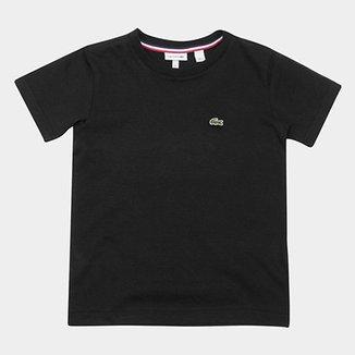 b4551773c2d Camiseta Infantil Lacoste Logo Masculina