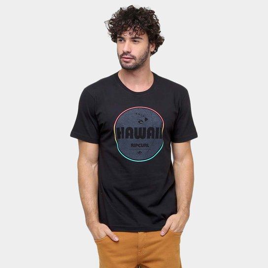 Camiseta Rip Curl Hawaii Patch Classics - Compre Agora  4818721f81b
