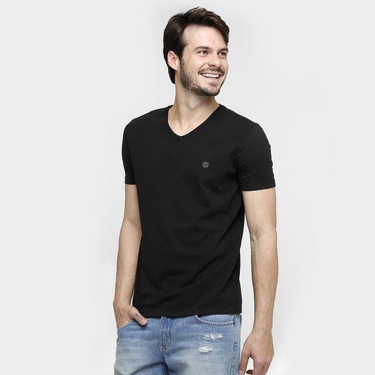 Camiseta Calvin Klein Gola V Básica - Compre Agora   Netshoes 5132970afc