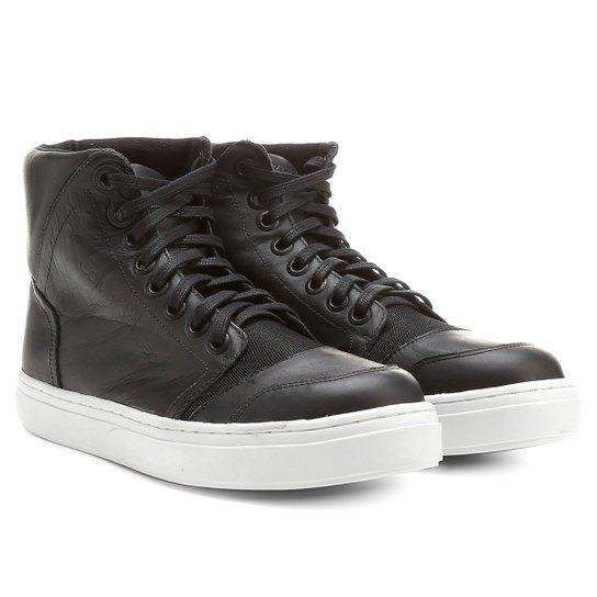 903cce2de71e6 Sapatênis Calvin Klein Cano Alto - Compre Agora   Netshoes