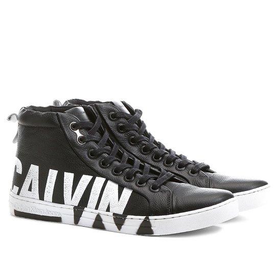 4220fddc6940c Sapatênis Calvin Klein Alto Logo Sola - Compre Agora   Netshoes