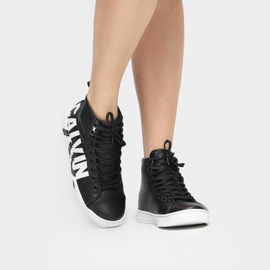 39c671d76 Tênis Calvin Klein Cano Alto Logo - Compre Agora | Netshoes