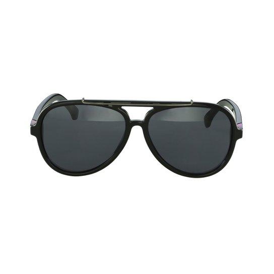 9c820cdeb1c60 Óculos de Sol Calvin Klein Aviador Preto - Compre Agora
