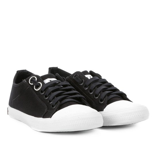 Tênis Calvin Klein Lona Masculino - Preto - Compre Agora   Netshoes 98dde575cf