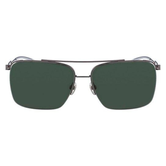 6588b1c03fd16 Óculos de Sol Calvin Klein CK8051S 015 57 - Preto - Compre Agora ...