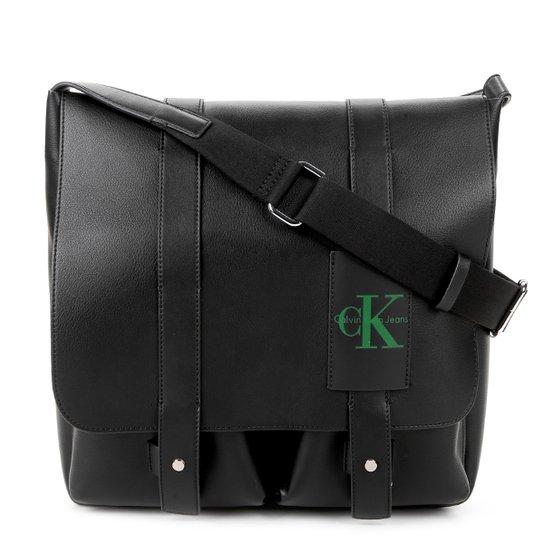 Bolsa Carteiro Calvin Klein Masculina - Preto - Compre Agora   Netshoes 26fe265da0