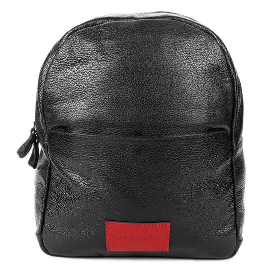 Mochila Couro Calvin Klein - Compre Agora   Netshoes 5cd899ac5f