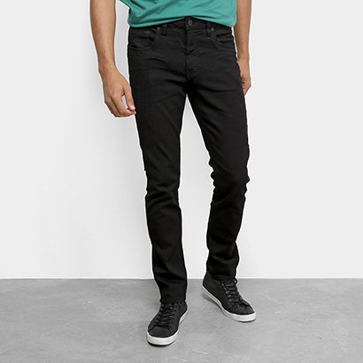 Calça Jeans Slim Calvin Klein Color Five Pockets Masculina
