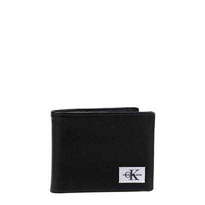 Carteira Couro Calvin Klein Porta Cartão Masculina