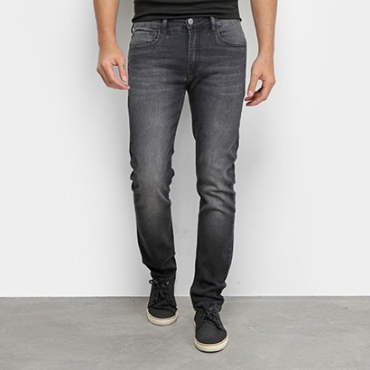 Calça Jeans Calvin Klein Skinny Estonada Masculina