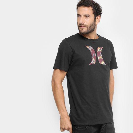 Camiseta Hurley Silk Icon Falling Masculina - Compre Agora  bf221a58175