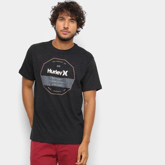 14a0f25883 Camiseta Hurley Silk Sweallagon Tribeland Masculina - Preto - Compre ...