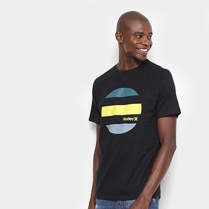 Camiseta Hurley Silk Drive Through Masculina