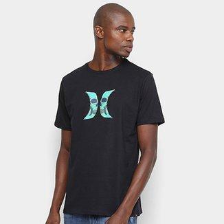 673c256da9df1 Camiseta Hurley Silk Skull Masculina