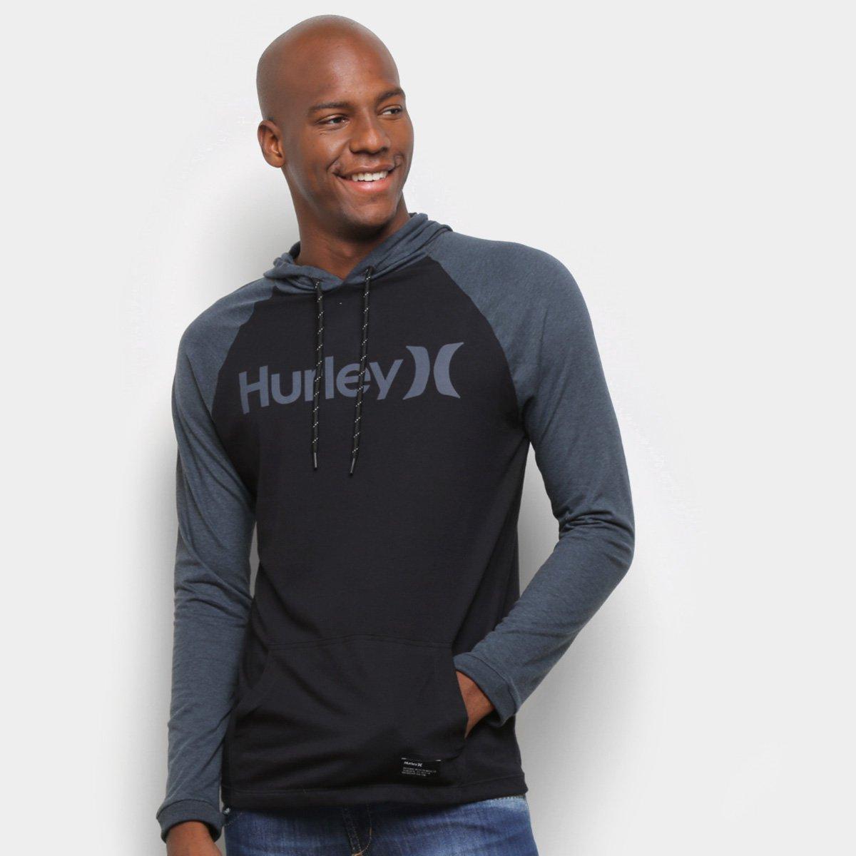 Camiseta Hurley Especial Manga Longa One&Only Masculina