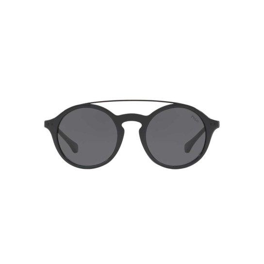 a89eec8a0 Óculos de Sol Polo Ralph Lauren Redondo PH4122 Feminino - Preto ...