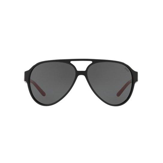c647892db Óculos de Sol Polo Ralph Lauren Masculino - Preto | Netshoes