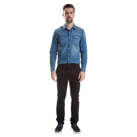 Calça 511 Slim Chino Levis - Preto - Compre Agora  75173a6edb1