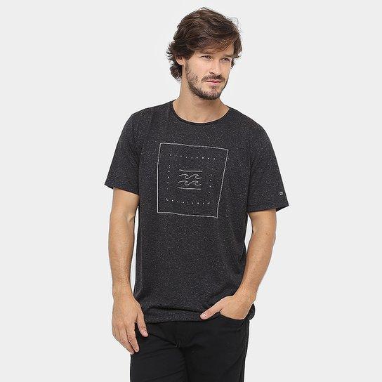 Camiseta Billabong Quadrant - Preto - Compre Agora  24f0af035e0