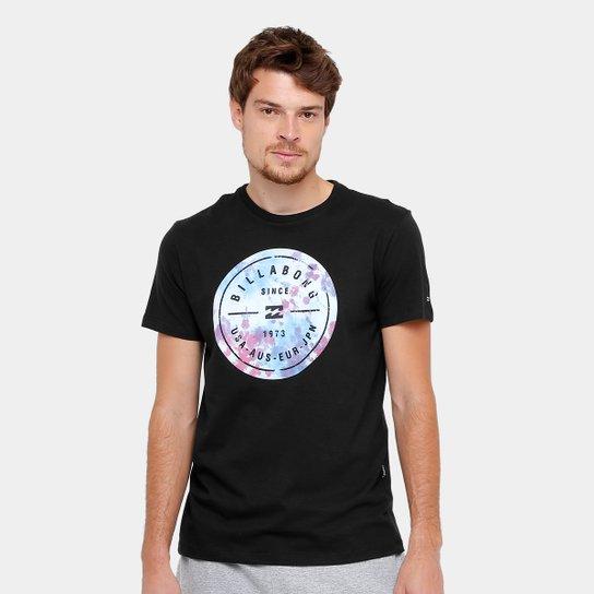 Camiseta Billabong Riot Roter Masculina - Preto - Compre Agora ... be6e533ddda