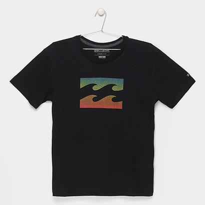 Camiseta Infantil Billabong Team Wave Pj Masculina