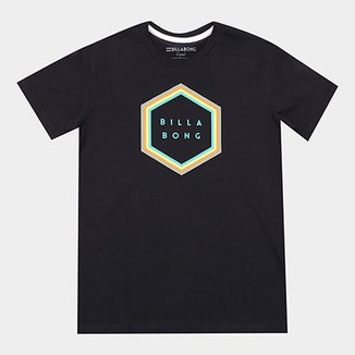 e6226c16fa4b4 Camiseta Infantil Billabong Estampa Logo Access Borderbk Masculina