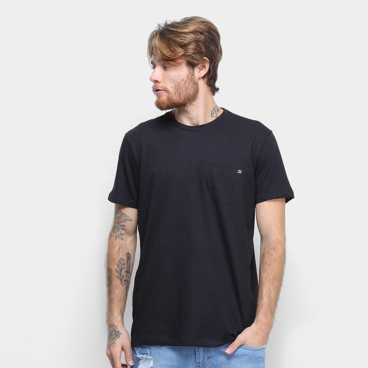 Camiseta Billabong Simple Basic Masculina