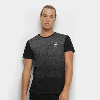 Camiseta Billabong Stripe Die Masculina