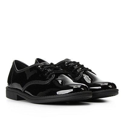 Sapato Beira Rio Oxford Verniz Feminino