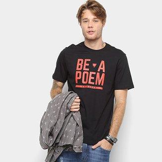 fa6b6f0a0 Camiseta Cavalera Estampa Be A Poem Masculina