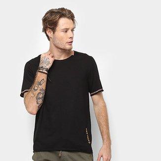 364417bd4d Camiseta Cavalera Fio com Trançador Masculina