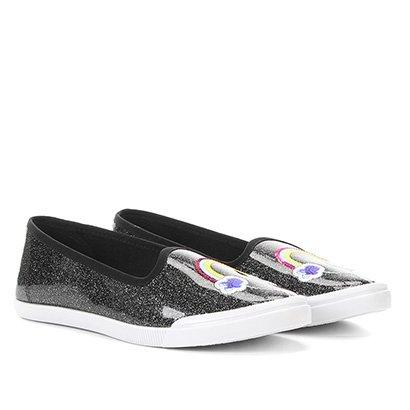 Sapato Casual Infantil Molekinha Verniz Constelacao Neo-250513515633